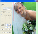 Crop photos with Digital Photo Finalizer